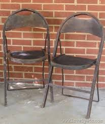 vintage metal folding chairs. Perfect Chairs Vintage Chairs Intended Vintage Metal Folding Chairs D