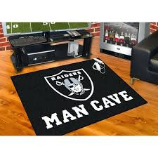 man cave rugs raiders black nylon man cave rug personalized man cave rugs