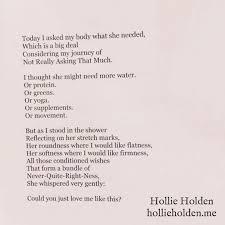 Hollie Holden   Positive body affirmations, Good motivation ...