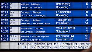 75 prozent der züge im fernverkehr fallen aus. Einschrankungen Noch Moglich Der Bahn Streik Endet Der Zoff Bleibt N Tv De