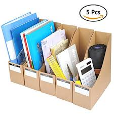 Cardboard Magazine Holder Cool Amazon YOTINO Magazine Holder 32pcs Corrugated Cardboard File