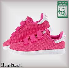 adidas girls. adidas originals stan smith girl knit trainers child kid uk size 10 11 12 13 1 girls