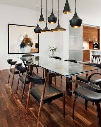 contemporary kitchen lighting. Contemporary Black Kitchen Lighting Fixtures With Chairs Dining Room