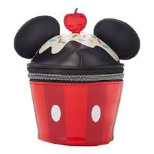 image is loading disney mickey mouse makeup bag case cupcake ears