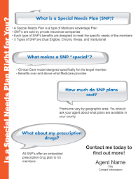 flyers ready agent special needs plan flyer