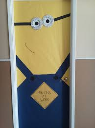 cool door decorations. Cool Halloween Door Decorations You Can Do With Your Kids Minion D