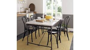 crate and barrel dining room