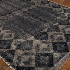 wool area rugs. Tile Hand Knotted Gray Wool Area Rugs