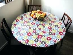 fitted round tablecloth elasticized tablecloths for rectangular tables