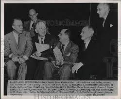 Milton Eisenhauer, Ivan Watkins, Sen. Albert Pechan 1951 Vintage Press  Photo Print | Historic Images