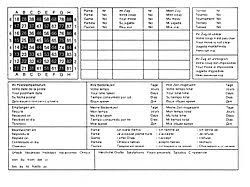 Chess Moves Chart Chess Notation Wikipedia