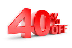40% Discount Stock Photo 55205506 - Megapixl