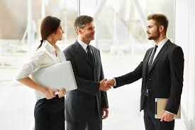 Business People Successful Business Partner Shaking Hands