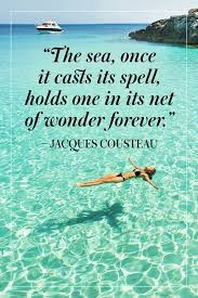 Ocean Quotes Classy 48 Ocean Quotes Best Quotations About The Beach