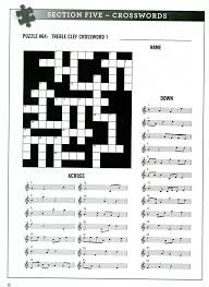 FREE Printable Music Notes Crossword Puzzle | Music : FREE ...