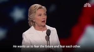 Hillary Clinton Quotes Beauteous Hillary Clinton Quotes Roosevelt's Fear Speech NBC Chicago