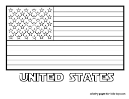 Printable Coloring Pages Flags Of The World Printable United States