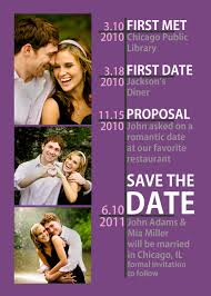 timeline save the date many color options available 128270zoom