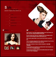 Hair Saloon Websites Hair Salon Template Free Website Templates