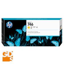 HP <b>746</b> Ink Cartridge | 300ml | Yellow | for <b>HP DesignJet</b> Z6, Z6dr ...