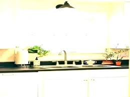 pendant light over sink distance from wall height in kitchen by pendant light above kitchen sink
