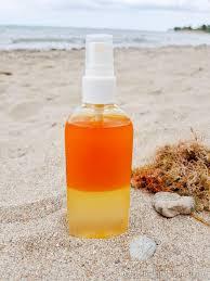 diy sea salt spray for beach waves year round