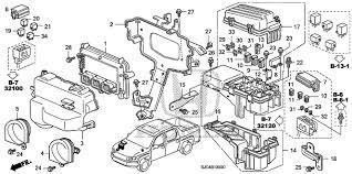 bracket sub fuse box honda 38256 s3v 000 hondakiapart bracket sub fuse box