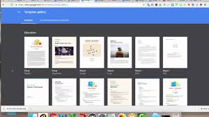 google templates how to use google docs templates