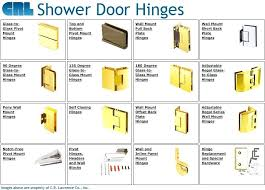 exotic shower door hinges shower door hinges replacement uk