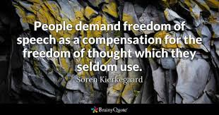 Freedom Of Speech Quotes Mesmerizing Freedom Of Speech Quotes BrainyQuote