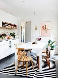 kitchen carpet stripe design color contrast