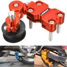 <b>bicycle chain adjuster tensioner</b> aluminum alloy bolt for bike single ...