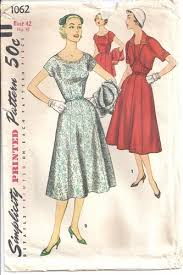 Simplicity Patterns Vintage Amazing Simplicity Pattern 48 Shirtwaist Dress Bolero 48s Bust 48