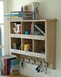 Small Picture Wall Mounted Storage Shelving with Hooks Amazoncouk Kitchen Home