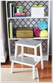 duct tape furniture. Step-stool-furniture-makeover-with-Houndstooth-Duct-tape Duct Tape Furniture