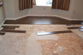 decoration in installing wood floors over tile installing laminate flooring over tile
