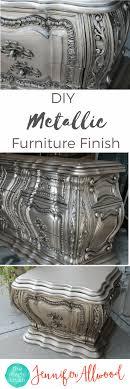 diy metallic furniture. DIY Silver Furniture Finish | The Magic Brush Diy Metallic