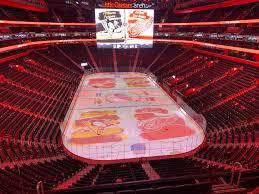 Little Caesars Arena View From Mezzanine M2 Vivid Seats