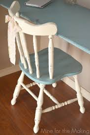 two tone painted furniture. As I Mentioned In My Craft Room Reveal Post, Annie Sloan Chalk Paint® Is So Easy To Use And You Have Minimal Prep Time. Painted Chair With Two Coats Of Tone Furniture