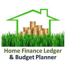Home Finance Ledger And Budget Planner