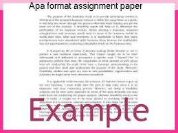 apa format for college papers apa format assignment paper college paper academic writing service