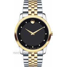 "men s movado museum diamond watch 0606879 watch shop comâ""¢ mens movado museum diamond watch 0606879"