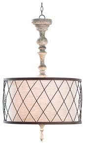 french country pendant lighting. flaubert french country gesso spindle pendant traditionalpendantlighting lighting g