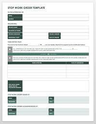 Work Order Format Magdalene Project Org