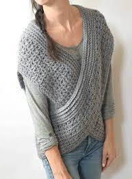 Crochet Shrug Pattern Impressive Crocheted Shrug Pattern Wrap Vest Pattern Easy Crochet Vest Etsy
