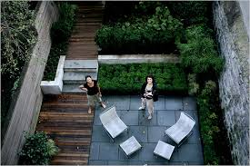 Small Picture Rethinking a Brownstones Backyard The New York Times Home