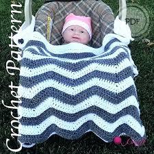 baby car seat blankets pattern car seat blanket chevron car seat stroller baby blanket by car