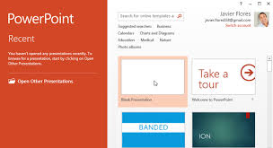 Powerpoint 2013 Template Location Powerpoint 2013 Getting To Know Powerpoint