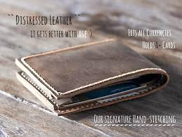 mens leather wallet title