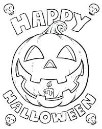 Easy Coloring Pages Printable Halloween For Kids Unicorn Cute Free